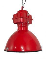 Industriele lamp rood 1 VM-Design